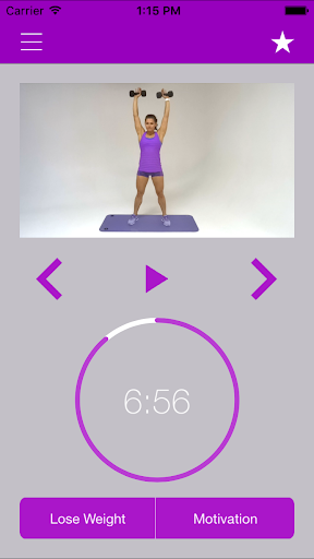 Dumbbell Exercises and Workout screenshot 1