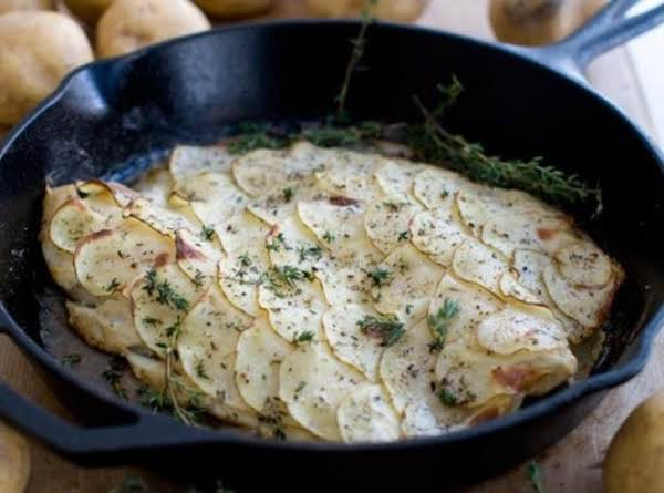 Roasted Potato-wrapped Tilapia Recipe