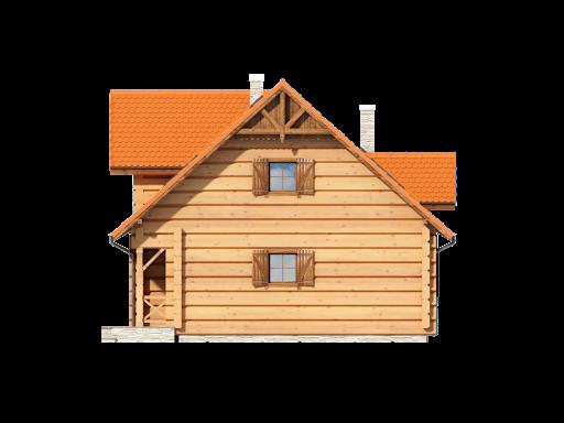Bolesławice drewniane - Elewacja prawa