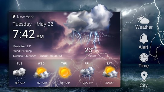 Daily&Hourly weather forecast 10