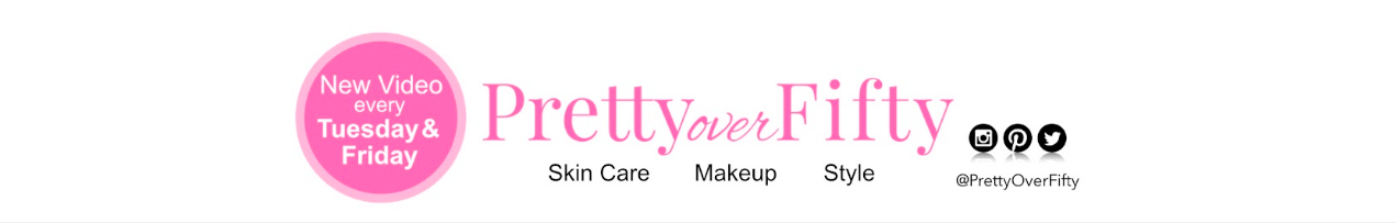 Pretty Over Fifty YouTube banner