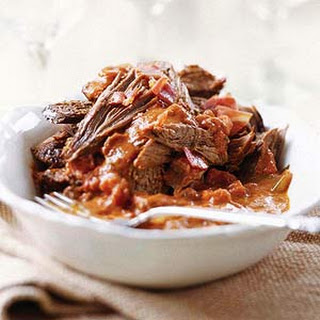 Braised Beef with Red Wine Sauce.