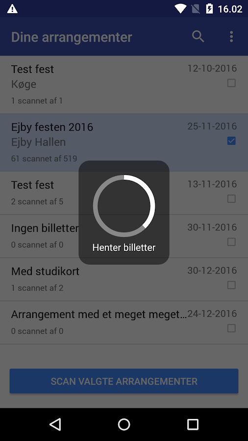 Place2Book Scanner – screenshot