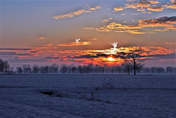 Angeli nel tramonto di Daimon