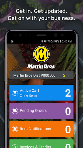 Screenshot for Martin Bros Distributing in United States Play Store