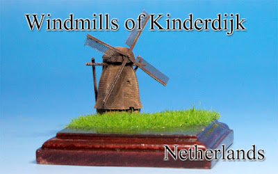 Windmill of Kinderdijk -Netherlands -
