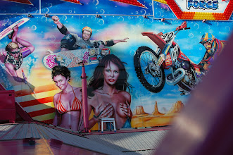 Photo: false advertising! riding this ride will not get you a date with strippers!