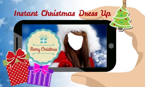 Christmas Girl Costume Montage