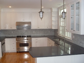 Photo: Providence kitchen cabinets and countertops