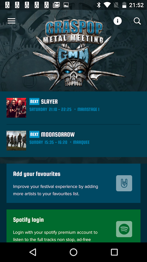 Graspop Metal Meeting- screenshot