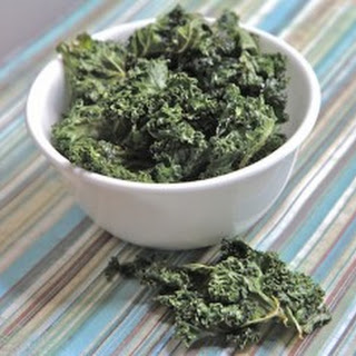 Salt n Vinegar Kale Chips.
