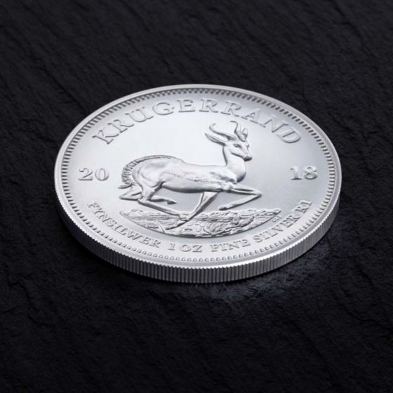 The silver krugerrand will bear the same iconic design as the gold bullion.