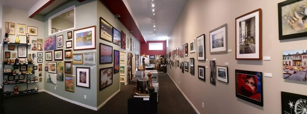 Entering the Main Exhibit Hall