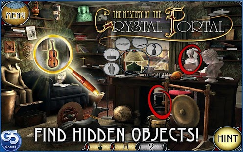 Mystery of the Crystal Portal- screenshot thumbnail