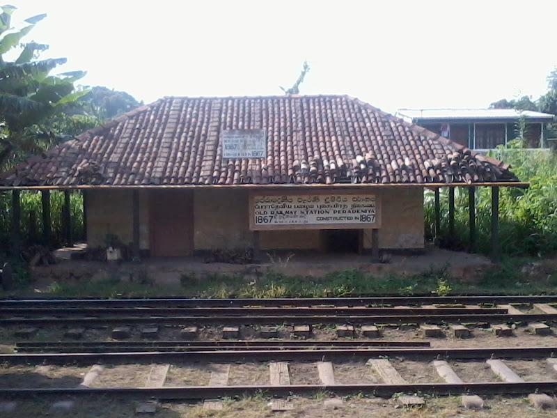 Photo: Old Peradeniya Railway Station. Built in 1867.