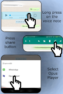 Opus Player  for WhatsApp- screenshot thumbnail
