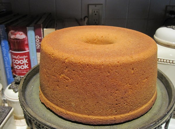 When cake comes out of the oven leave it in the pan 15 minutes,...