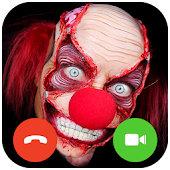 Video Call Scary Killer Clown