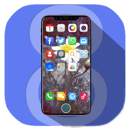 Launcher For iphone 8 2017