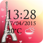 Paris Weather Clock