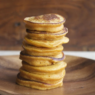 Blend & Pour Sweet Potato Pancakes {Thanksgiving Leftovers Series}
