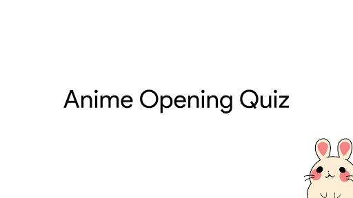 Anime Opening Quiz 1.2 screenshots 1