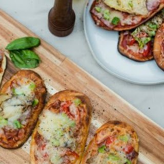 Grilled Flatbread Pizza Bar with Easy Pizza Sauce Recipe