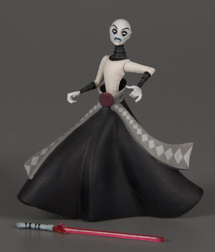Action figure:Star Wars Clone Wars: Asajj Ventress