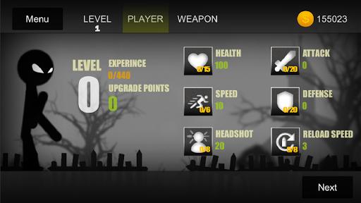Stickman vs Monsters - Zombies Battle Fight Game 1.2 screenshots 1