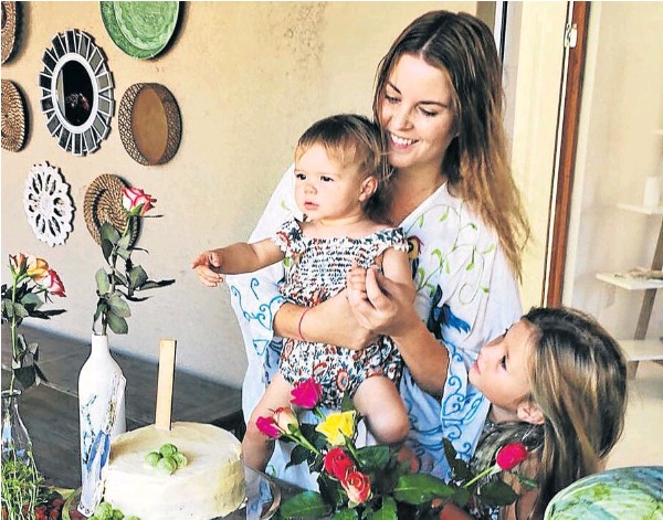 My Scattered Heart (MSH) founder, Reese Anderson, pictured with her daughters Ivy, 15 months, and Lily, 6. MSH will be available in store for the first time at the new Toast boutique and home décor store, opening at the Beacon Bay Crossing in East London tomorrow.