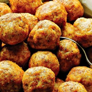 Paleo Fried Chicken Meatballs