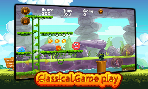 Super Red Ball: Red Ball in the Jungle Adventures 1.01.0 screenshots 2