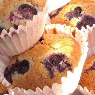 Blueberry and Coconut Cakes.