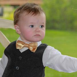 Ready for the wedding by Shelly Nichols Hellbusch - Babies & Children Children Candids ( jones )