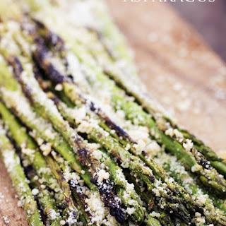 Grilled Parmesan Garlic Asparagus