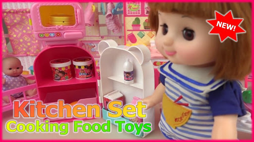 Kitchen Set Cooking Food Toys  screenshots 3