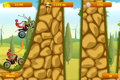 Moto Hero -- endless motorcycle running game