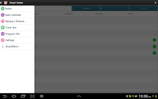 Screenshot of Smart Notes