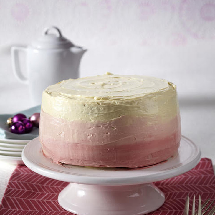 White Chocolate Cake with Maple Syrup Buttercream Recipe