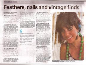 Photo: Dubai based news paper, Little Black Book 08