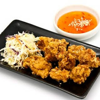 Japanese Style Fried Chicken.