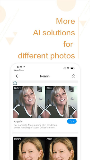 Remini - photo enhancer 1.2.3 screenshots 3