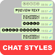 Chat Styles: Cool Font & Stylish Text for WhatsApp