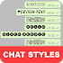 Chat Styles: Cool Text, Stylish Font for WHatsapp 5.5