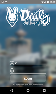 Daily Delivery Driver App - náhled
