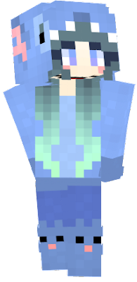 Kawaii Girl Nova Skin - Skin para minecraft pe kawaii
