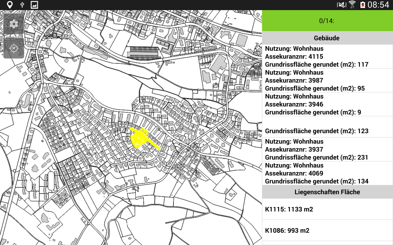 QField for QGIS - EXPERIMENTAL- screenshot