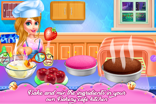 Doll Cake Bake Bakery Shop - Cooking Flavors 1.0.0 screenshots 4