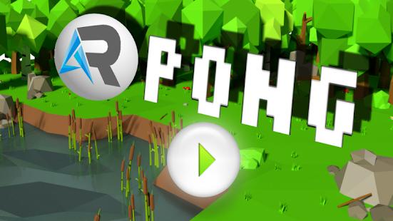 AR Pong - náhled