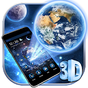 Download App 3D Earth & Moon Theme Launcher